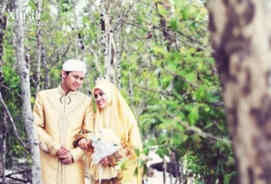 Gambar-Perkahwinan-Imam-Muda-Hassan-Dan-Ulfah-3