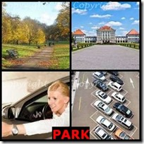 PARK- 4 Pics 1 Word Answers 3 Letters