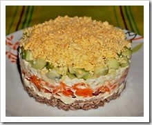 Рецепт рыбный салата пошагово в