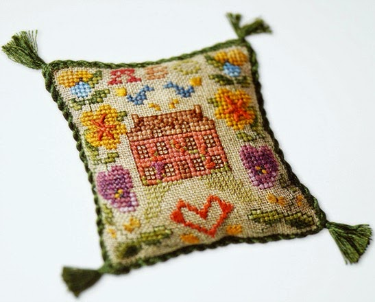 Cross Stitch Antique Style Sampler - 2