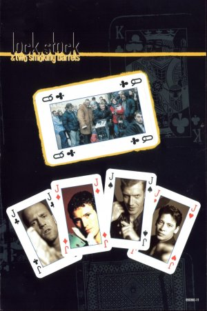 Jason Statham's breakout film role was in Guy Ritchie's debut and apex Lock Stock and Two Smoking Barrels.