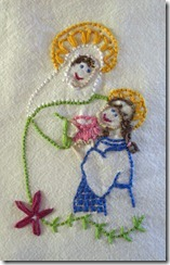 saint anne stitched