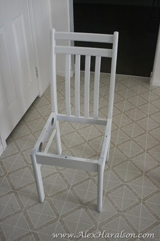 Kitchen Chair Redo