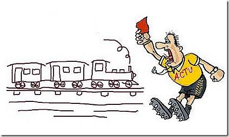 ACTU e os trens