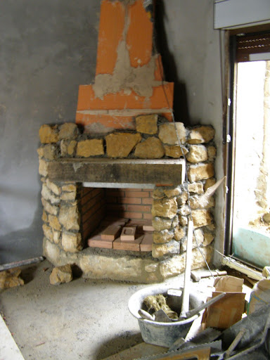 Pin como hacer una chimenea paso 2 on pinterest - Como construir una chimenea paso a paso ...