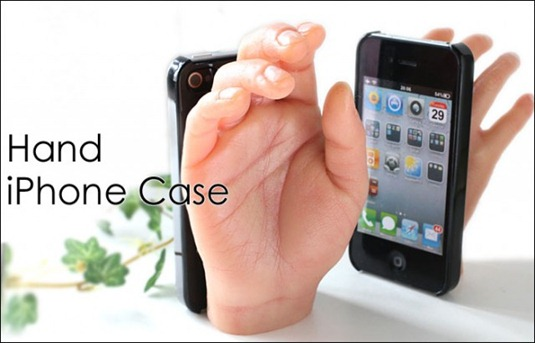 iPhone-weird-hand-case-mobile-spoon