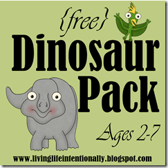 FREE Dinosaur Preschool Worksheets
