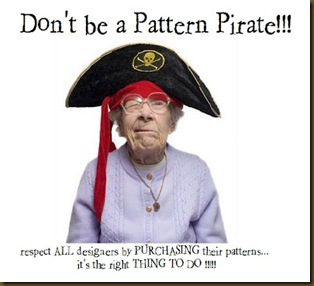 PATTERN PIRATE badge