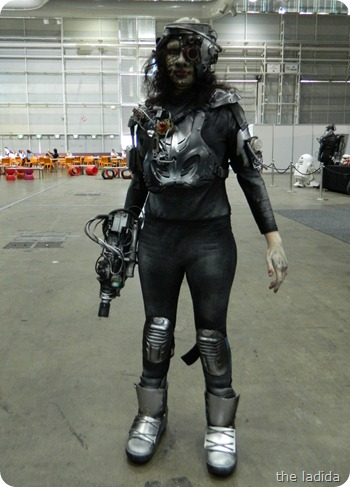 IMATS Sydney 2012 - Student Battle of the Brushes - Character Prosthetic - Mia Gudic (1)