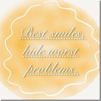 quote-photo-draw-smile-problems-fake-yellow-saying