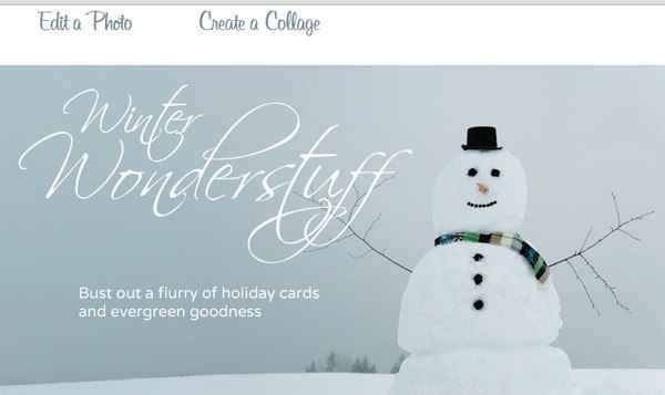 Hacer un fondo de navidad online