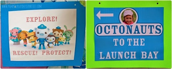Octonauts Party Posters