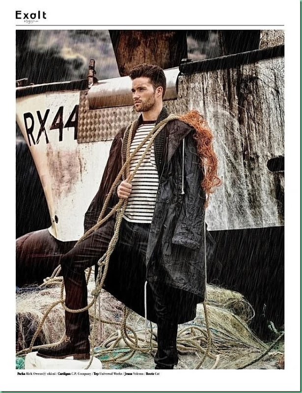 "Arthur Keller is  ""The Sailor"" for Exalt Magazine"