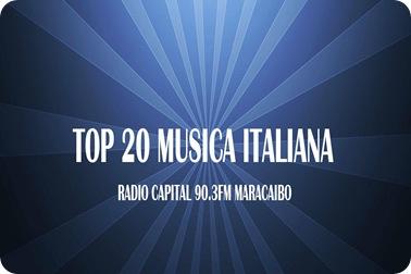 TOP 20 MUSICA ITALIANA