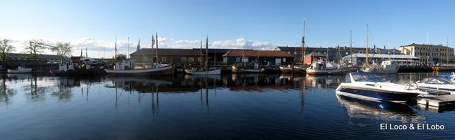 Trondheim harbour marina