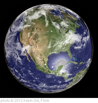 'Earth - Global Elevation Model with Satellite Imagery' photo (c) 2012, Kevin Gill - license: http://creativecommons.org/licenses/by-sa/2.0/