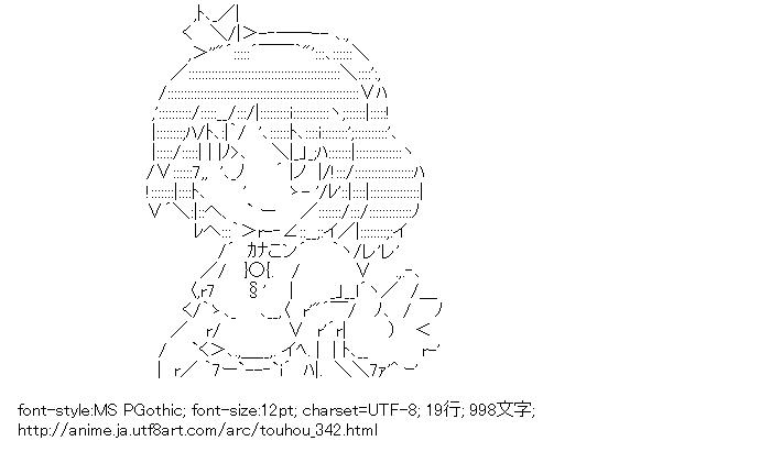 [AA]八坂神奈子 (東方)