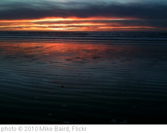 'Sunset on Morro Strand State Beach at Morro Bay, CA  07 Jan 2010.  2 of 2  iPhone 3GS mikebairdmike' photo (c) 2010, Mike Baird - license: http://creativecommons.org/licenses/by/2.0/