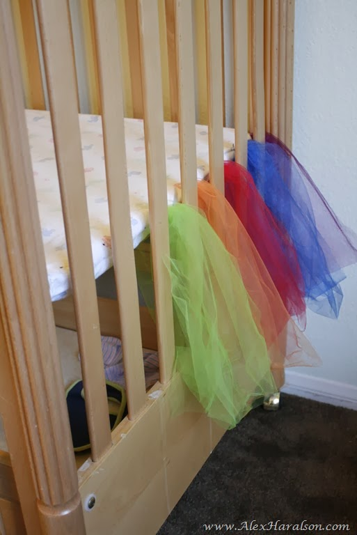 no sew tutu crib skirt28