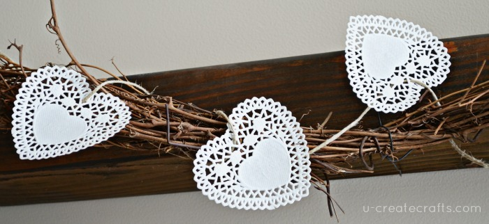 DIY Doily Banner