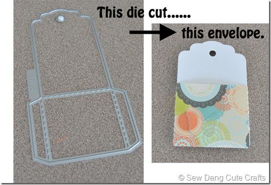 Envelope-die-cut