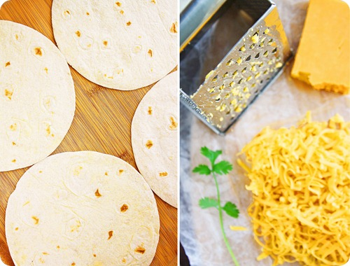 Tortillas and Cheddar