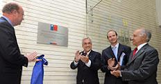 Presidente inaugura nuevo edificio CONICYT