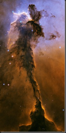 The Fairy of Eagle Nebula