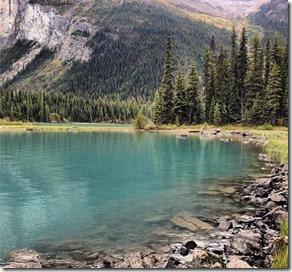 Lago Esmeralda, Jasper National Park - Canadá Autora Nathalia Molina