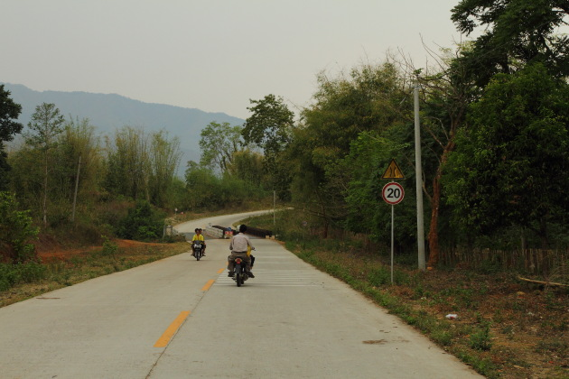 Scenic surroundings enroute to Myitsone, Myanmar