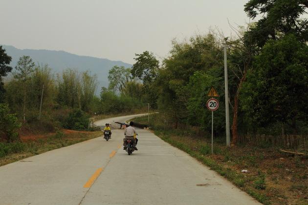 Scenic surroundings enroute to Myitsone, Myanmar