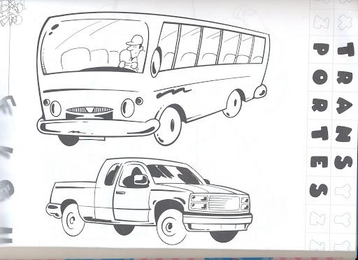 transporte medios de transporte dibujos de medios de transporte para