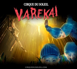 Varekai Cirque du Soleil 2012 em Curitiba terá mais uma semana de espetáculo.