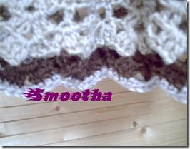 Vestido de crochet castanho e beje (4)