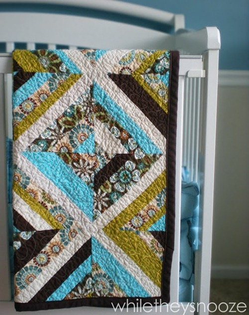 kaleidoscope quilt tutorial