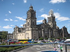 The Metropolitan Cathedral on the Zocalo.