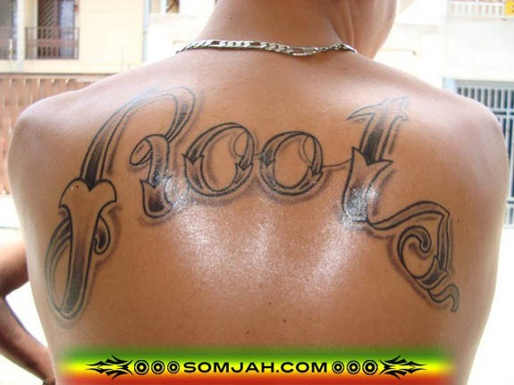 Tatoo Reggae SOMJAH 07