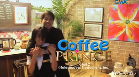 Kris Bernal and Aljur Abrenica in Coffee Prince