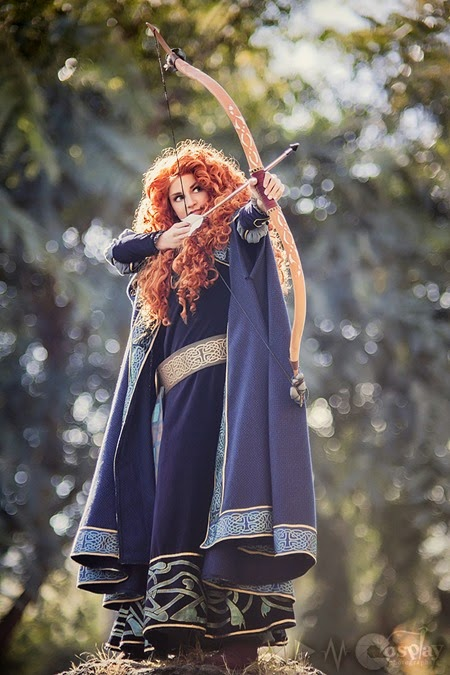 Merida Cosplay by Callesto photographed by DarkainMX