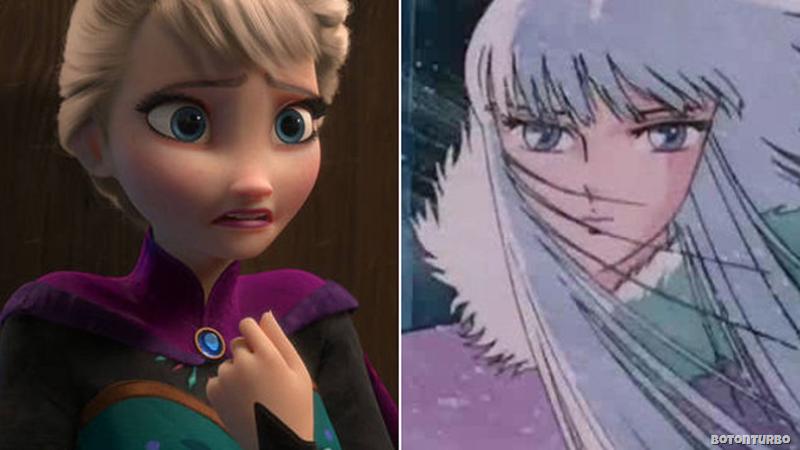 Elsa de Frozen e Hilda de Polaris