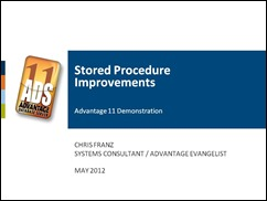 Stored Procedure Enhancements