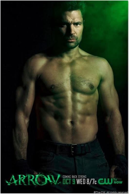 Manu Bennett from ARROW. CLICK on image to enlarge.