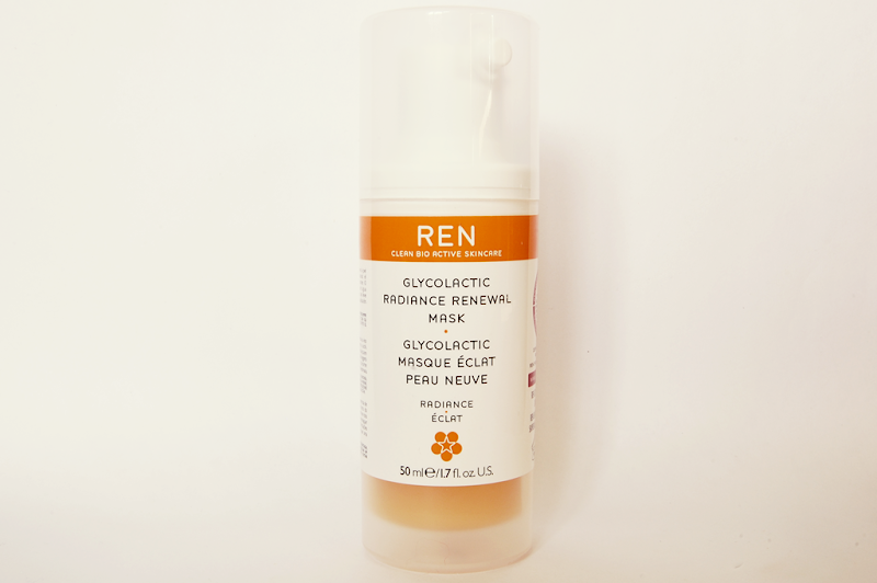 REN Glycolatic Radiance Renewal Mask Review