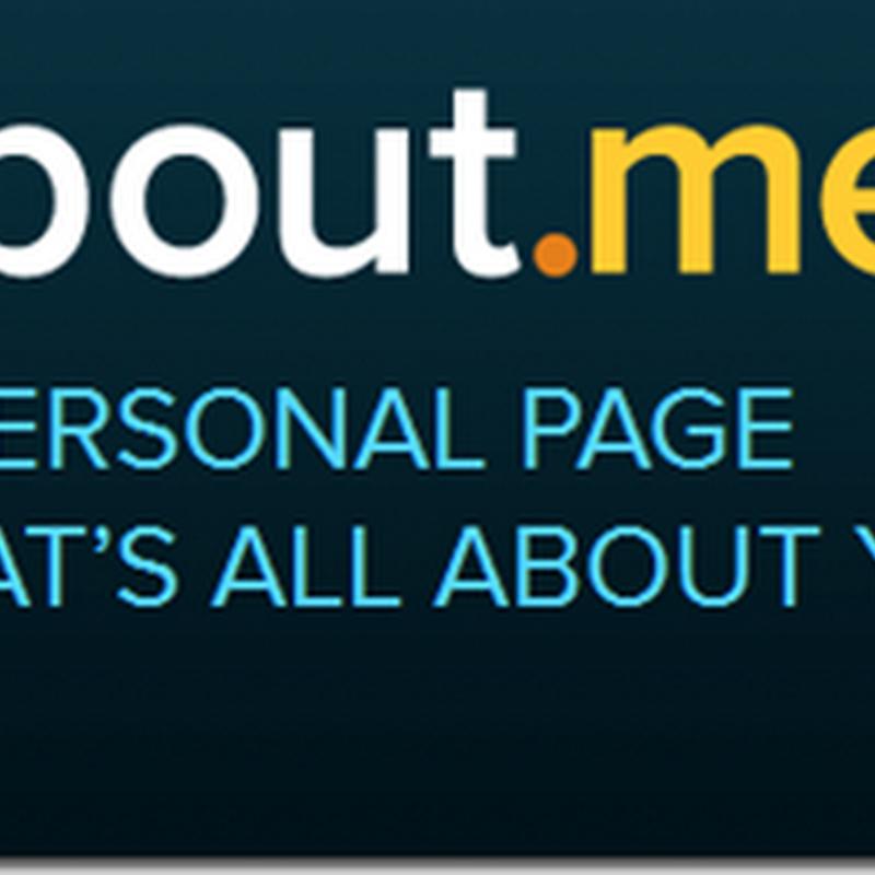 About me web untuk memperkenalkan diri