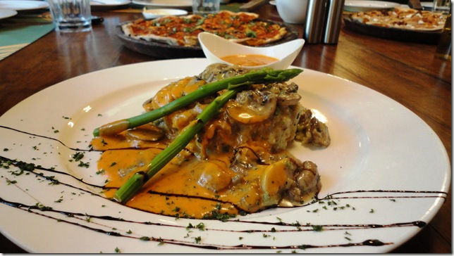 mushroom on couscous