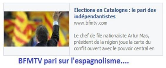 BFMTV Eleccions Catalonha