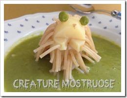 Creature mostruose verdure bambini