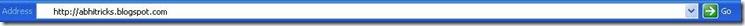 Taskbar URL