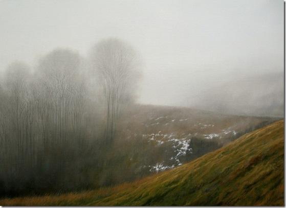 La niebla escrbiendo entre los arboles-Jesus-Mase-ENKAUSTIKOS
