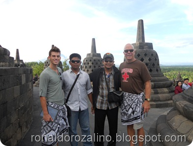 Objek  Candiborobudur di Yogyakarta 2
